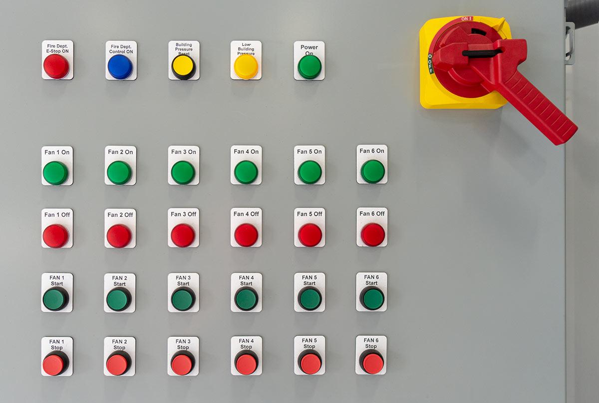 Industrial Control Panel Installation