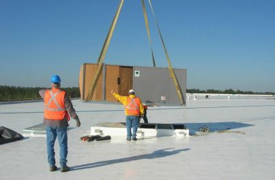 Rooftop HVAC Installation in Indiana