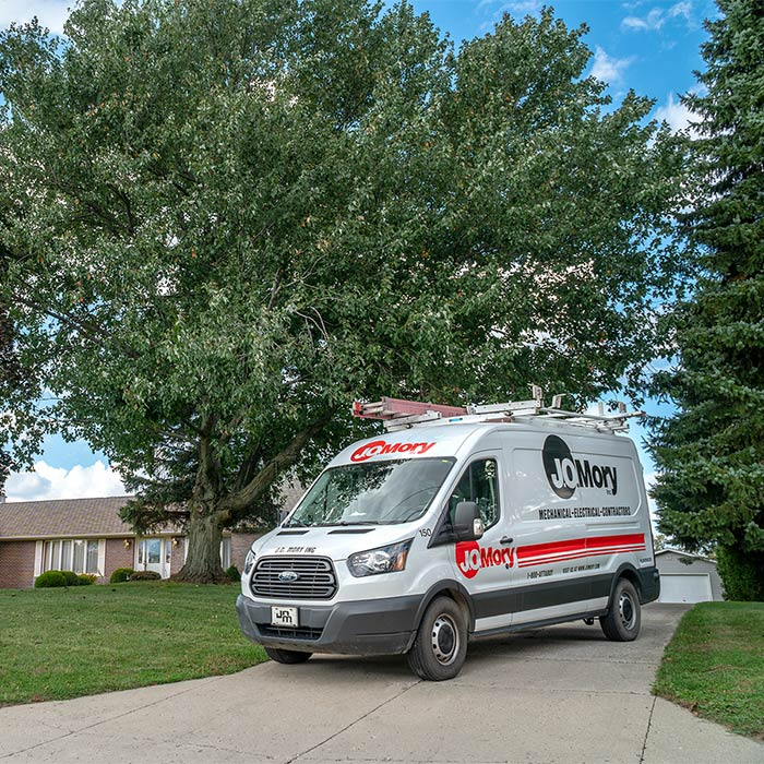 Residential HVAC, electrical, and plumbing service in northeast Indiana